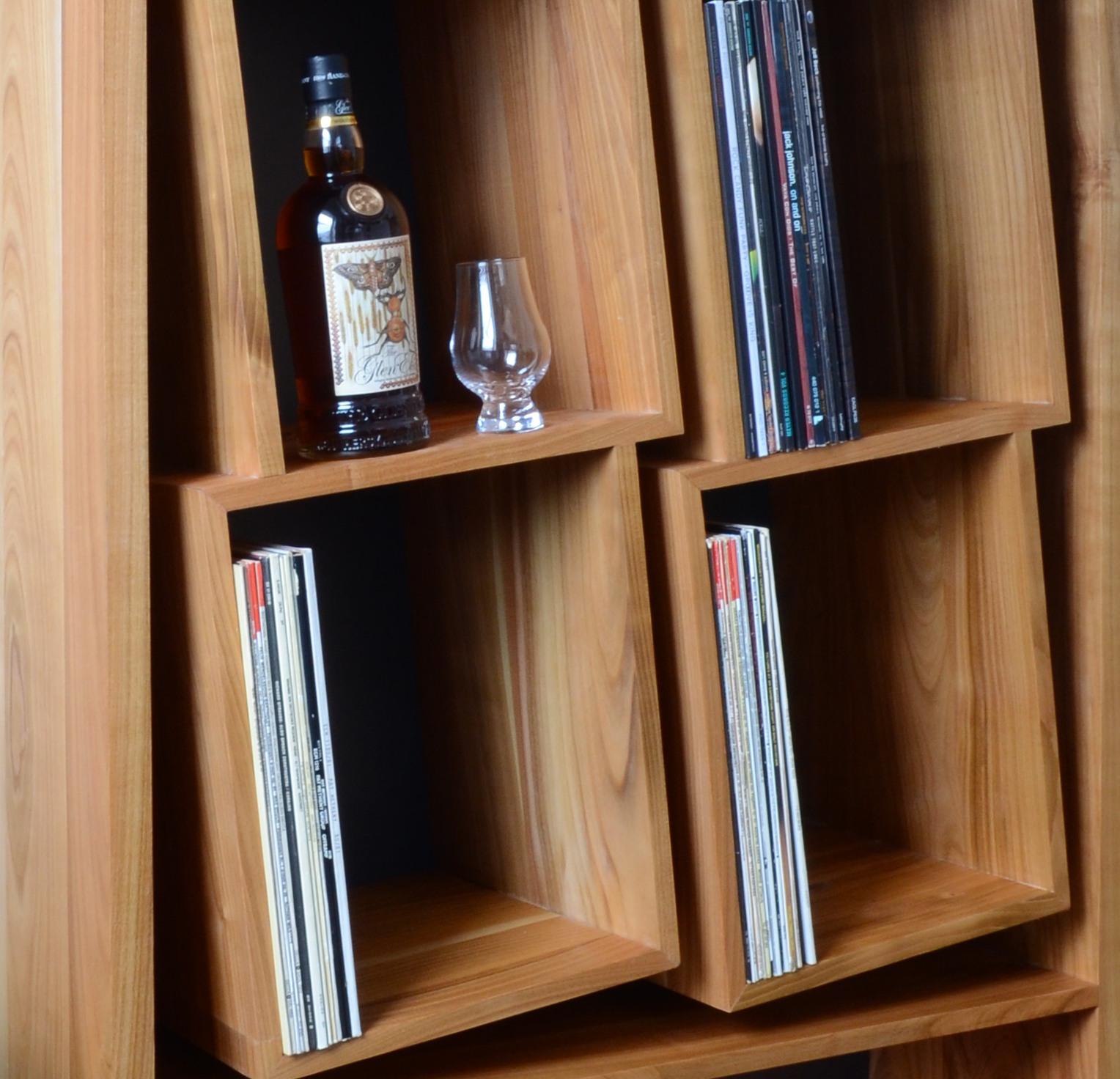 Schallplatten Regal - Sinfonic Audio baut das geniale Schallplattenregal